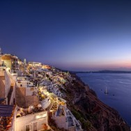 Nightlife in Fira