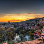Sunset in Veliko Tarnovo
